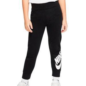 Nike Leg-A-See Leggings Toddler Girls Black White